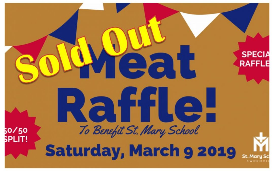 MEAT RAFFLE- SOLD OUT EVENT!