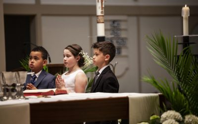 Family Faith Formation Celebrates Easter Season with Holy Sacraments